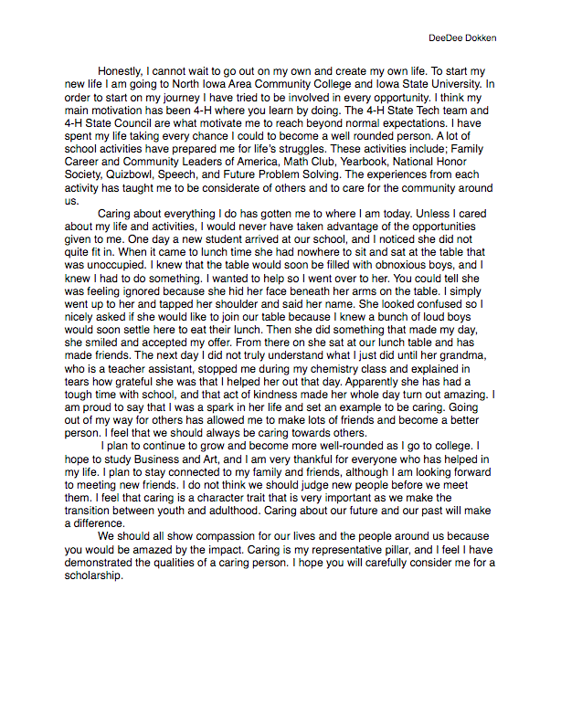 personal opinion essay on global warming